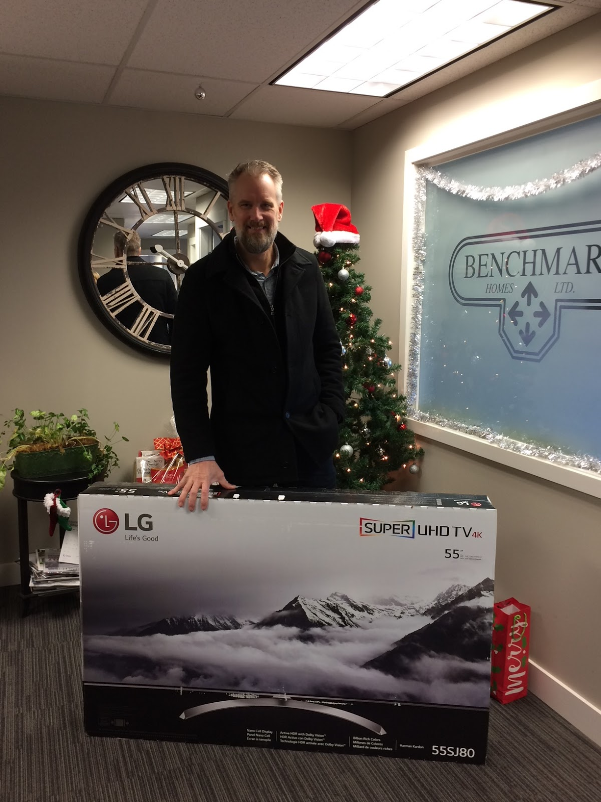 A lucky winner of our Benchmark Homes draw